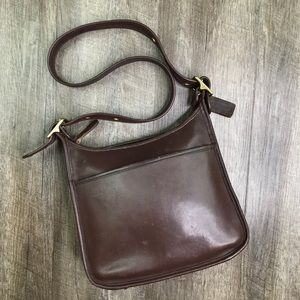 Coach Vintage Chocolate Brown Leather Legacy Bag